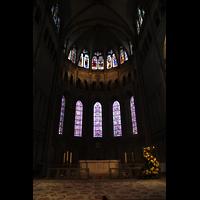 Lyon, Cathédrale Saint-Jean (Chororgel), Chorraum