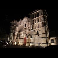 Bordeaux, Sainte-Croix, Außenansicht bei Nacht
