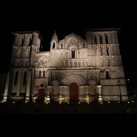 Bordeaux, Sainte-Croix, Fassade bei Nacht