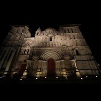 Bordeaux, Sainte-Croix, Fassade perspektivisch