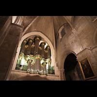 Bordeaux, Sainte-Croix, Orgel seitlich