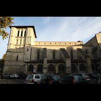 Bordeaux, Sainte-Croix, Seitenansicht