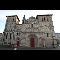 Bordeaux, Sainte-Croix, Fassade