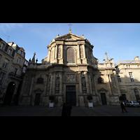 Bordeaux, Notre-Dame (Hauptorgel), Fassade