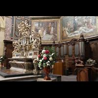 Bordeaux, Notre-Dame (Hauptorgel), Chororgel