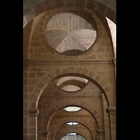 Bordeaux, Notre-Dame (Hauptorgel), Bogenkonstruktion im Seitenschiff
