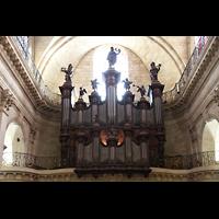 Bordeaux, Notre-Dame (Hauptorgel), Orgelempore