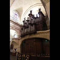 Bordeaux, Notre-Dame (Hauptorgel), Hauptorgel seitlich gesehen