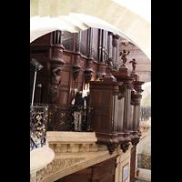Bordeaux, Notre-Dame (Hauptorgel), Orgelempore seitlich