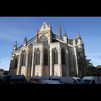 Bordeaux, Saint-Michel (Chororgel), Außenansicht Chor
