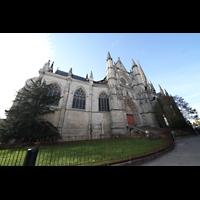 Bordeaux, Saint-Michel (Chororgel), Außenansicht seitlich