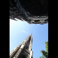 Bordeaux, Saint-Michel (Chororgel), Turm und Fassade