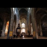 Bordeaux, Saint-Michel (Chororgel), Innenraum in Richtung Chor