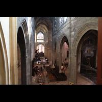 Bordeaux, Saint-Michel (Chororgel), Blick von der Empore in die Kirche