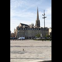 Bordeaux, Saint-Michel (Chororgel), Außenansicht vom Ufer der Garonne aus gesehen