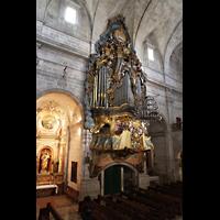 Santanyí (Mallorca), Sant Andreu, Orgel und Seitenkapelle