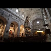 Santanyí (Mallorca), Sant Andreu, Seitenschiff mit Orgel