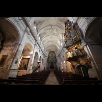 Santanyí (Mallorca), Sant Andreu, Innenraum ion Richtung Chor