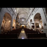 Santanyí (Mallorca), Sant Andreu, Innenraum in Richtung Rückwand