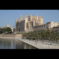 Palma de Mallorca, Catedral La Seu, Kathedrale und Parc de la Mar