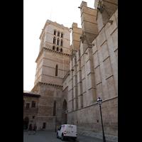 Palma de Mallorca, Catedral La Seu, Turm neben dem nördlichen Seiteneingang