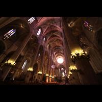 Palma de Mallorca, Catedral La Seu, Innenraum