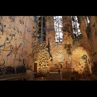 Palma de Mallorca, Catedral La Seu, Keramiken von Miquel Barceló in der Capella del Santíssim