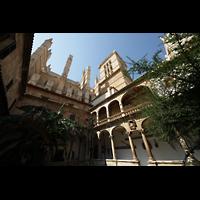 Palma de Mallorca, Catedral La Seu, Kreuzgang