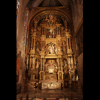 Palma de Mallorca, Catedral La Seu, Retaule del Corpus Christi in der nördlichen Seitenkapelle