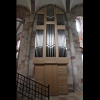 Speyer, Kaiser- und Mariendom, Rückwärtiger Prospekt der Chororgel