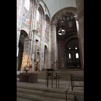 Speyer, Kaiser- und Mariendom, Kaiserchor mit Chororgel