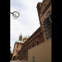 Speyer, Kaiser- und Mariendom, Seitenansicht außen