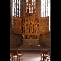 Heilbronn, Kilianskirche - Chororgel, Marienaltar