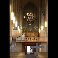Heilbronn, Kilianskirche - Chororgel, Hauptorgel