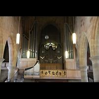 Heilbronn, Kilianskirche - Chororgel, Orgelempore
