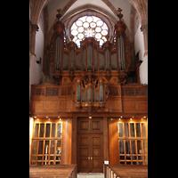 Strasbourg (Straßburg), Saint-Thomas (Chororgel), Orgel an der Westwand