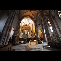 Strasbourg (Straßburg), Saint-Thomas (Chororgel), Chorraum und Vierung