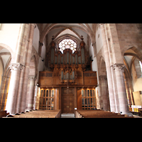 Strasbourg (Straßburg), Saint-Thomas (Chororgel), Hauptschiff mit Silbermann-Orgel