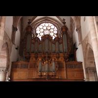 Strasbourg (Straßburg), Saint-Thomas (Chororgel), Orgelempore