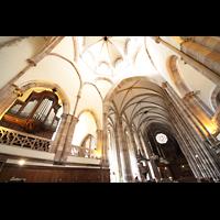 Strasbourg (Straßburg), Saint-Thomas (Chororgel), Chororgel, Hauptschiff, Vierung und Hauptorgel