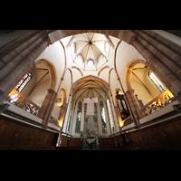 Strasbourg (Straßburg), Saint-Thomas (Chororgel), Hauptschiff in Richtung Chor
