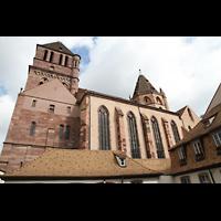 Strasbourg (Straßburg), Saint-Thomas (Chororgel), Südliches Seitenschiff mit Westturm