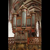 Strasbourg (Straßburg), Saint-Pierre-le-Jeune Protestant, Silbermann-Orgel (Westseite)