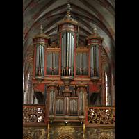 Strasbourg (Straßburg), Saint-Pierre-le-Jeune Protestant, Orgelprospekt