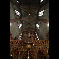 Strasbourg (Straßburg), Saint-Pierre-le-Jeune Protestant, Orgel und Gewölbe