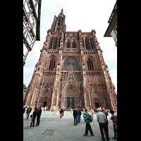 Strasbourg (Straßburg), Cathédrale Notre-Dame - Münster (Kapellenorgel), Westfassade