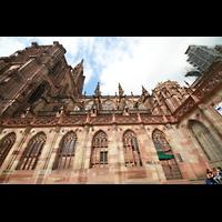 Strasbourg (Straßburg), Cathédrale Notre-Dame - Münster (Hauptorgel), Seitenansicht