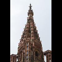 Strasbourg (Straßburg), Cathédrale Notre-Dame - Münster (Kapellenorgel), Turmhelm