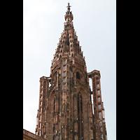 Strasbourg (Straßburg), Cathédrale Notre-Dame - Münster (Hauptorgel), Turmhelm