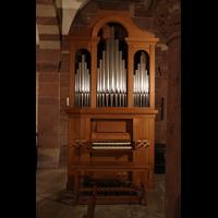 Strasbourg (Straßburg), Cathédrale Notre-Dame - Münster (Kapellenorgel), Krypta-Orgel